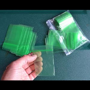 Grønne lynlåsposer