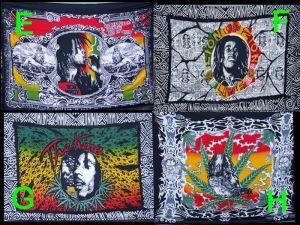 Bob Marley Rasta saronger B