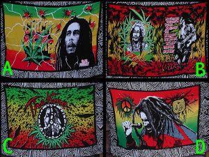 Bob Marley/Rasta Saronger A