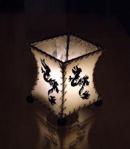 Drage Telys lampe